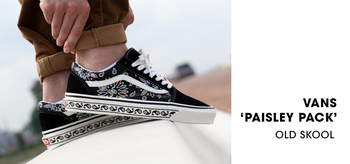 Vans 'Paisley' Pack Old Skool / Sk8-Hi