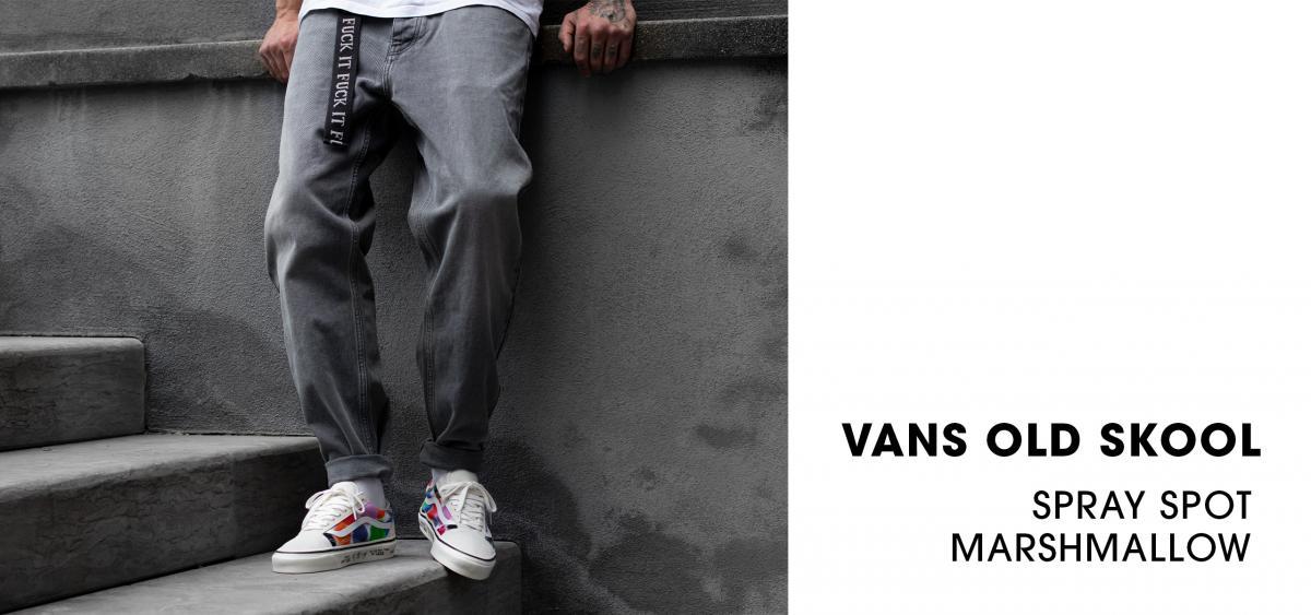 Vans Old Skool 'Anaheim Factory' spray spot marshmallow