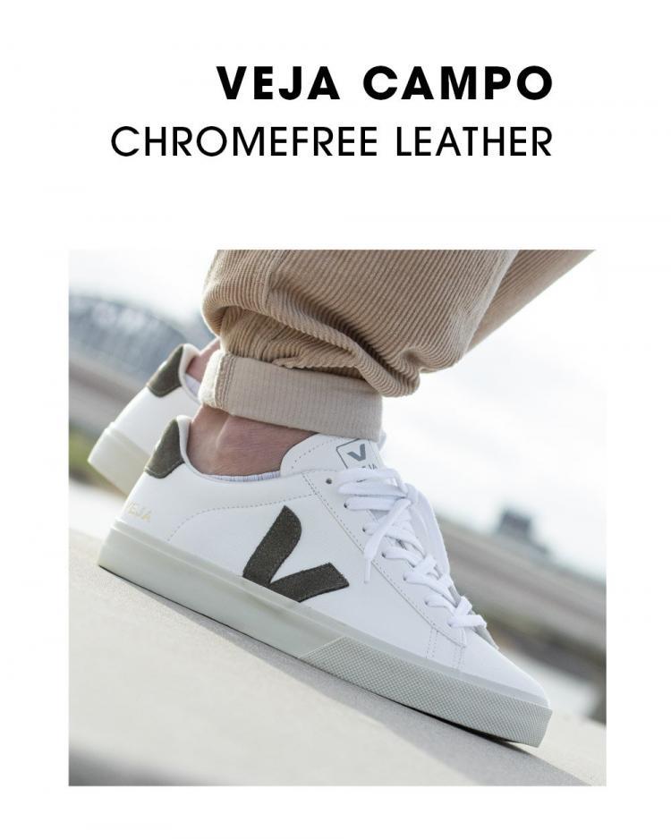 Veja Campo Chromefree Leather