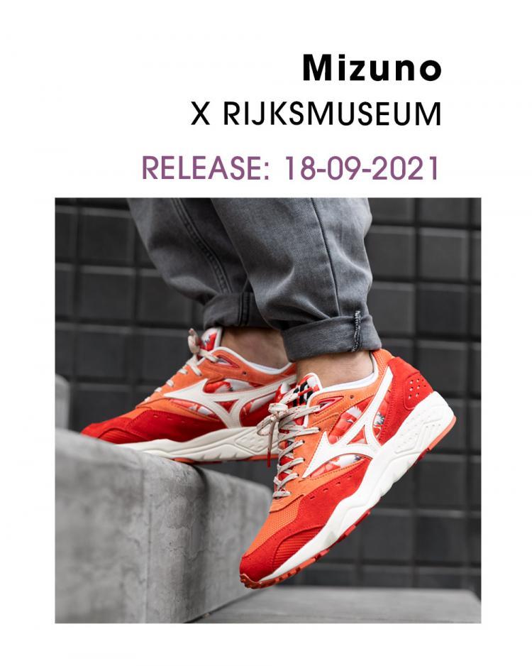 Mizuno x Rijksmuseum Contender