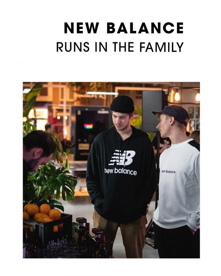 New Balance, Runs in the Family