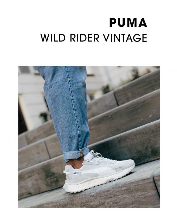 Puma Wild Rider Vintage