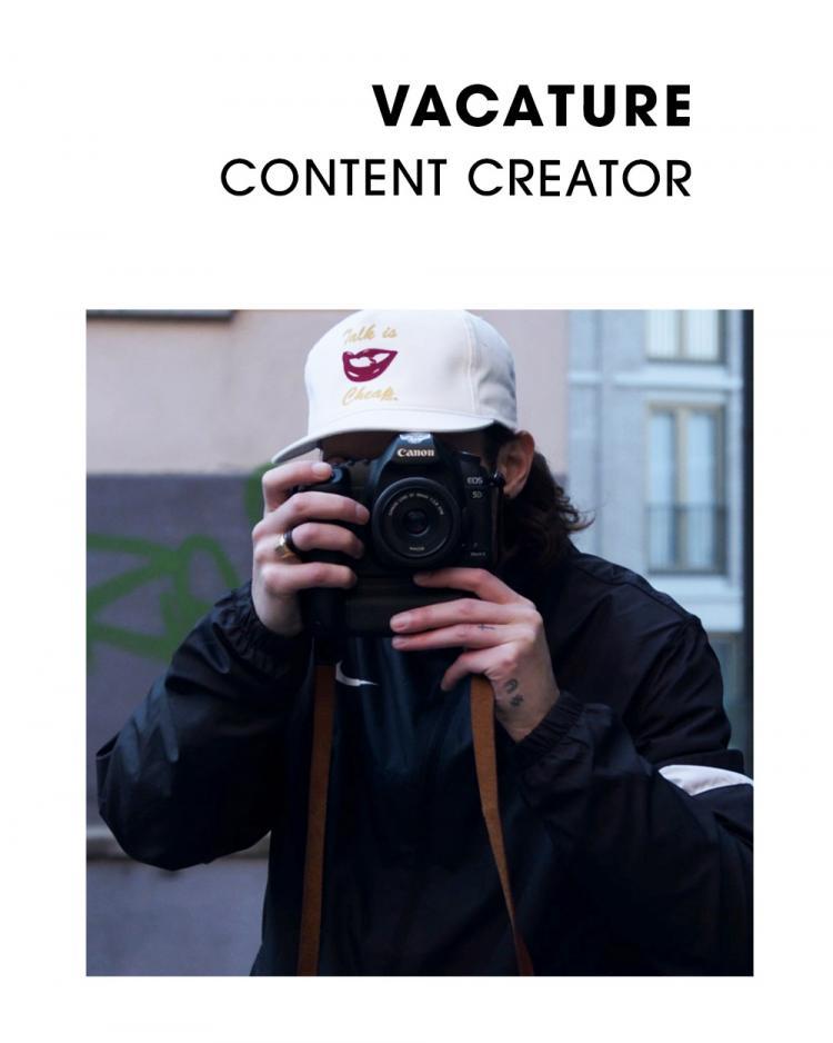 Vacature content creator