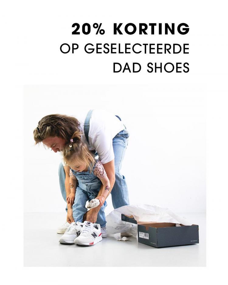 Vaderdag Dad shoes 20% korting