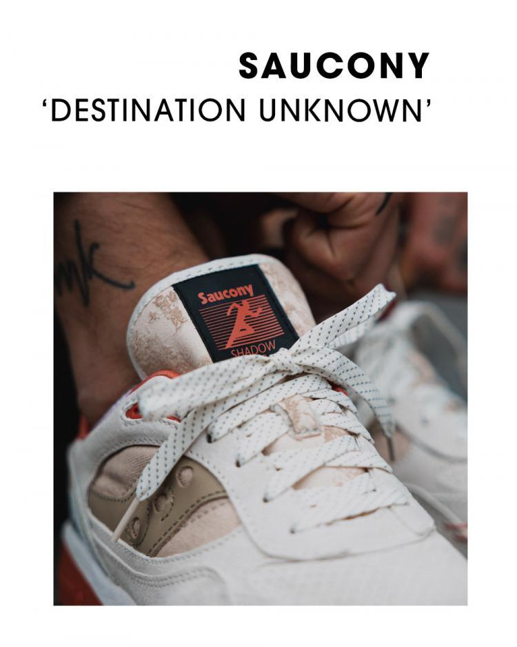 Saucony Shadow 6000 ' Destination Unknown' Pack