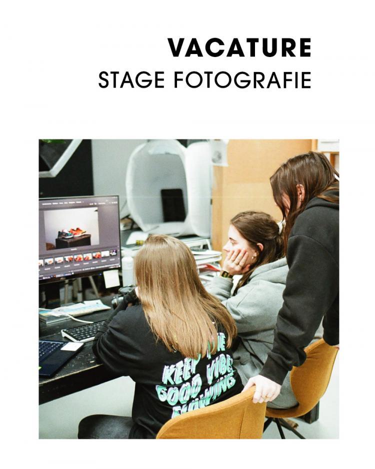 Vacature Stage Fotografie