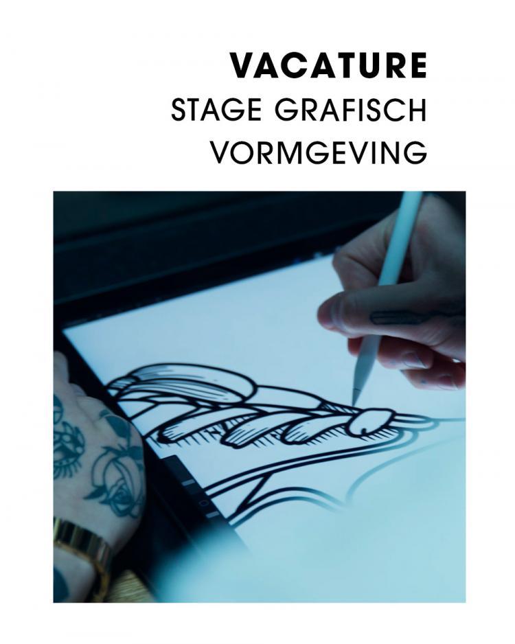 Vacature Stage Grafisch Vormgeving
