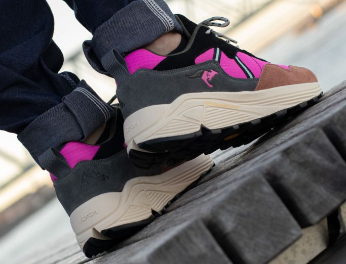 KangaROOS Dynaflow steel grey pink