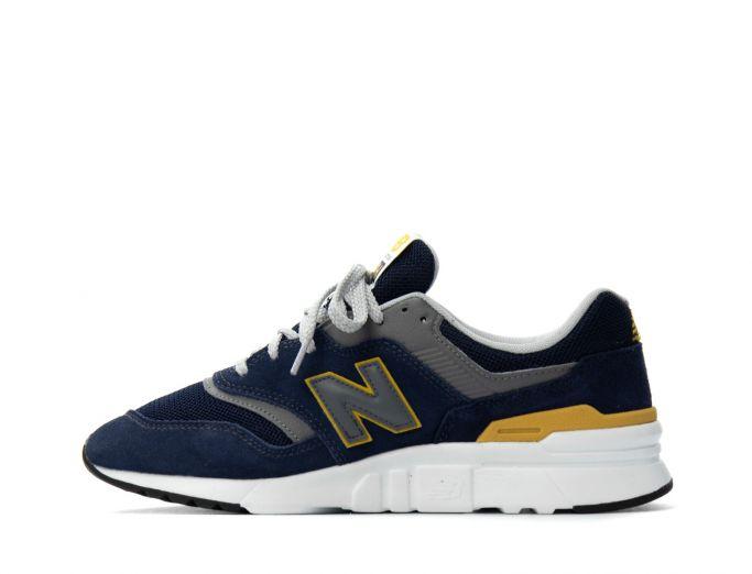New Balance 997H black with varsity gold