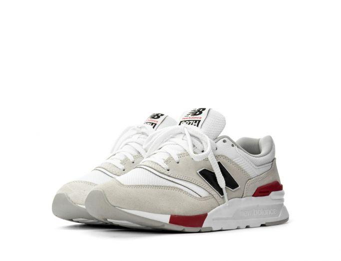 New Balance 997H beige white red
