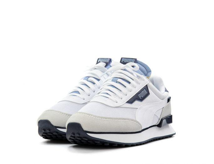 Puma Future Rider Core white forever blue