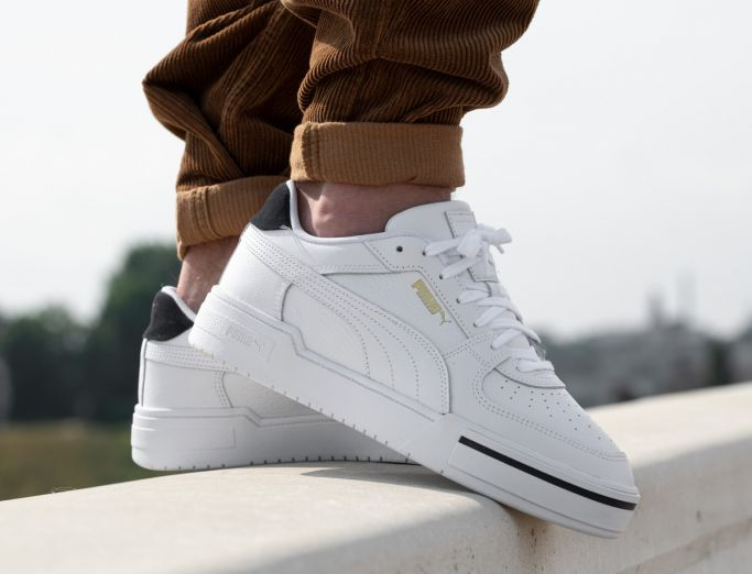 Puma CA Pro Heritage white peacoat