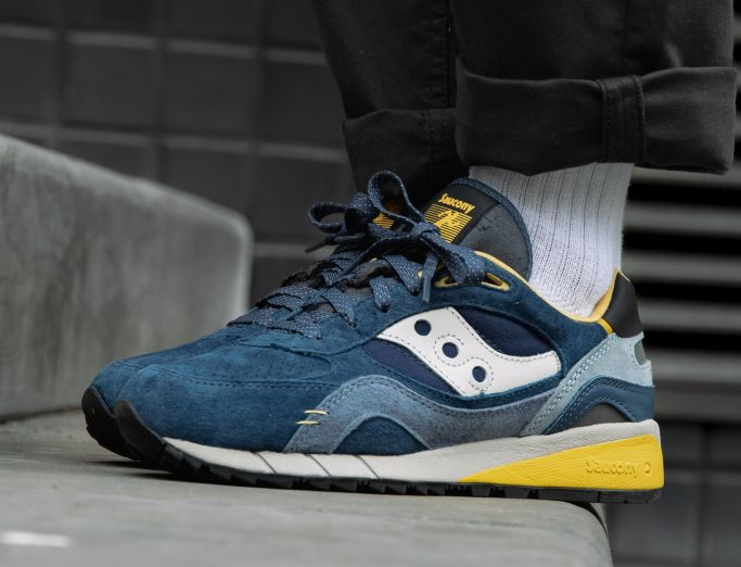 Saucony Shadow 6000 'Destination Unknown' Pack navy yellow