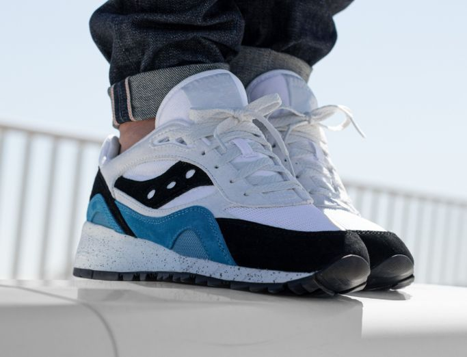 Saucony Shadow 6000 white ensign