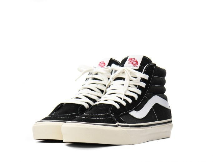 Vans Sk8-Hi 38 DX 'Anaheim Factory' black true white