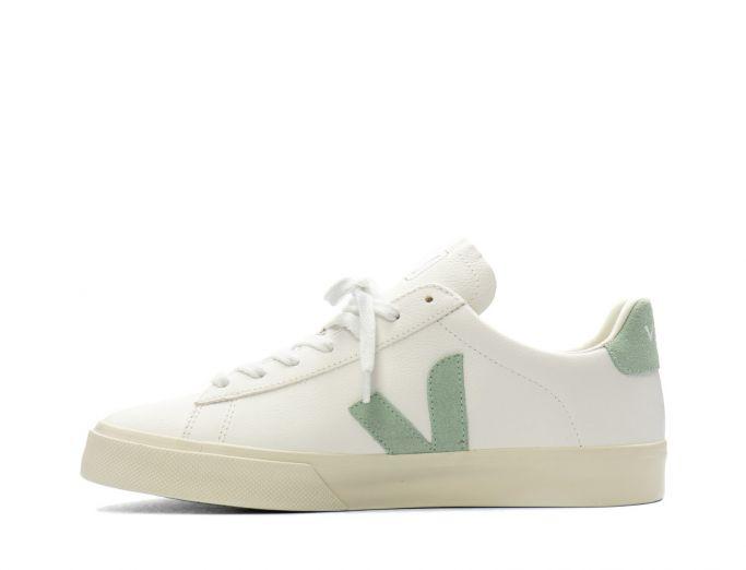 Veja Campo Chromefree Leather white matcha