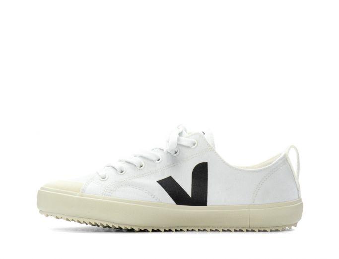 Veja Nova canvas white black
