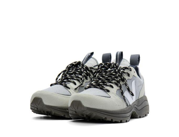Veja Venturi b-mesh silver white kaki sole