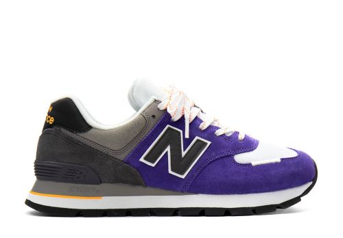 New Balance 574 Rugged prism purple with marblehead