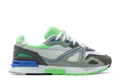 Puma Mirage Mox white castlerock elektro green