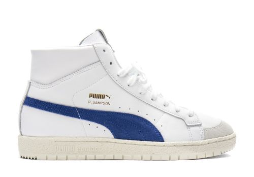 Puma Ralph Sampson 70 Mid white elektro blue