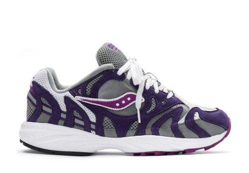 Saucony Grid Azura 2000 white purple grey