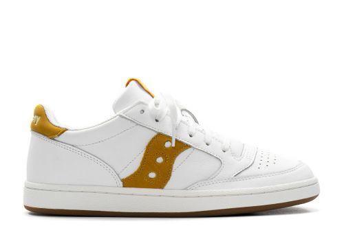Saucony Jazz Court white yellow