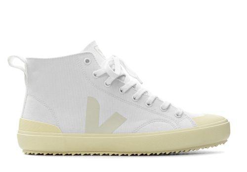 Veja Nova High Top canvas white butter sole