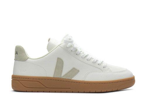 Veja V-12 Chromefree Leather extra white natural gum sole